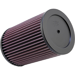 K&N Air Filter - 2010 Kawasaki KFX450R K&N Air Filter