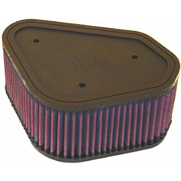 K&N Air Filter - 2006 Kawasaki KFX700 Moose Dynojet Jet Kit - Stage 1
