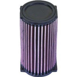 K&N Air Filter - 2001 Yamaha KODIAK 400 2X4 Dynojet Jet Kit