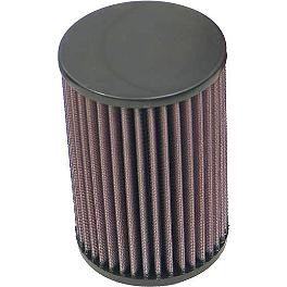 K&N Air Filter - 2006 Yamaha KODIAK 450 4X4 HMF Performance Series Slip-On Exhaust - Brushed