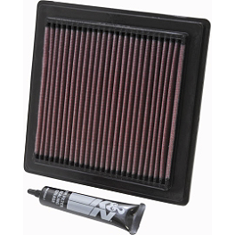 K&N Air Filter - 2004 Polaris PREDATOR 500 Outerwears Pre-Filter For K&N