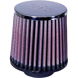 K&N Air Filter - 2003 Honda RANCHER 350 2X4 HMF Utility Slip-On Exhaust - Polished