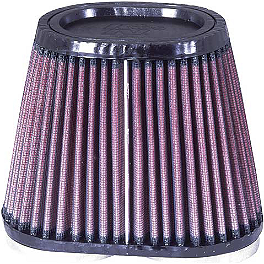 K&N Air Filter For Modquad AFS - 2003 Yamaha RAPTOR 660 Moose Pre-Oiled Air Filter