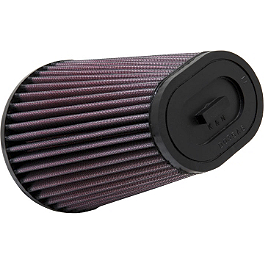 K&N Air Filter For Modquad AFS - 2009 Yamaha RAPTOR 700 Moose Pre-Oiled Air Filter