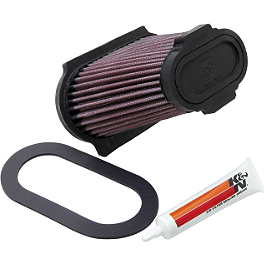 K&N Air Filter - 2002 Yamaha RAPTOR 660 K&N Xtream Power Lid