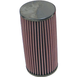 K&N Air Filter - 2007 Yamaha RHINO 660 Moose Complete Axle - Front Left