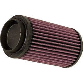K&N Air Filter - 2004 Polaris SCRAMBLER 500 4X4 Moose Dynojet Jet Kit - Stage 1