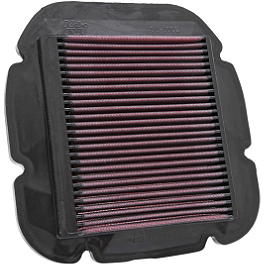 K&N Air Filter - Suzuki - 2009 Suzuki DL1000 - V-Strom Galfer G1054 Semi-Metallic Brake Pads - Rear