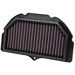 K&N Race Air Filter - Suzuki - 2008 Suzuki GSX-R 1000 K&N Spin-on Oil Filter
