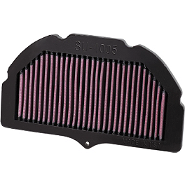K&N Air Filter - Suzuki - 2005 Suzuki GSX-R 1000 BikeMaster Air Filter