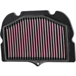 K&N Race Specific Air Filter - Suzuki - Hotbodies Racing ABS Plastic Replacement Large Air Scoop