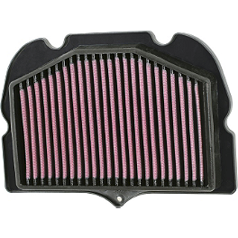 K&N Air Filter - Suzuki - 2011 Suzuki GSX1300R - Hayabusa BikeMaster Air Filter