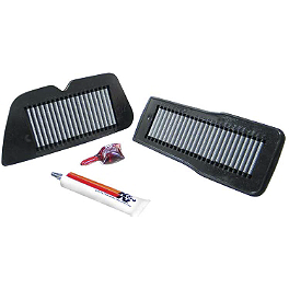 K&N Air Filter - Suzuki - 2002 Suzuki Intruder 1400 - VS1400GLP BikeMaster Air Filter