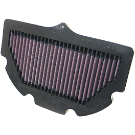 K&N Air Filter - Suzuki - 2006 Suzuki GSX-R 600 BikeMaster Air Filter