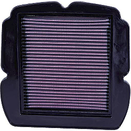 K&N Air Filter - Suzuki - 2009 Suzuki SV650SF ABS BikeMaster Air Filter
