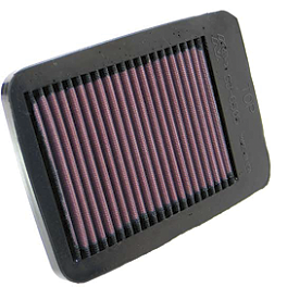 K&N Air Filter - Suzuki - 2011 Suzuki GSX1250FA Suzuki Genuine Accessories Side Case Mount