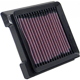 K&N Air Filter - Suzuki - 1999 Suzuki Savage 650 - LS650P Jardine Rumblers Slip-On Slashcut Exhaust