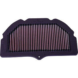 K&N Air Filter - Suzuki - 2002 Suzuki GSX-R 750 BikeMaster Air Filter