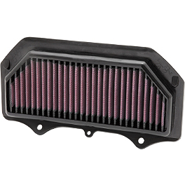 K&N Air Filter - Suzuki - K&N Spin-on Oil Filter - Chrome