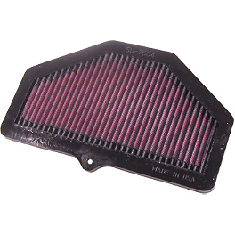 K&N Air Filter - Suzuki - 2004 Suzuki GSX-R 600 BikeMaster Air Filter