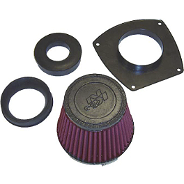 K&N Air Filter - Suzuki - 2001 Suzuki GSX600F - Katana Galfer G1054 Semi-Metallic Brake Pads - Front Left