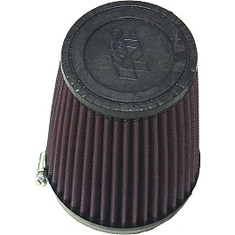 K&N Air Filter - 1986 Honda TRX250R Outerwears Pre-Filter For K&N, Black