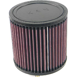 K&N Air Filter For Modquad AFS - 2012 Honda TRX400X Outerwears Pre-Filter For K&N, Black