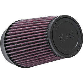 K&N Air Filter - 2009 Honda TRX450R (ELECTRIC START) Outerwears Pre-Filter For K&N, Black