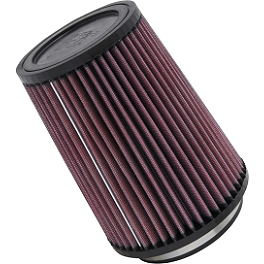 K&N Air Filter For Modquad AFS - 2006 Honda TRX450R (KICK START) K&N Xtream Power Lid
