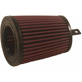 K&N Air Filter - 2006 Suzuki VINSON 500 4X4 AUTO HMF Utility Slip-On Exhaust - Polished