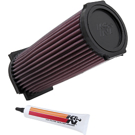 K&N Air Filter - 1995 Yamaha WOLVERINE 350 Outerwears Pre-Filter For K&N, Black
