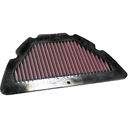 K&N Air Filter - Yamaha - 2004 Yamaha YZF - R1 BikeMaster Air Filter