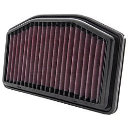 K&N Race Air Filter Yamaha - Two Brothers Cat Eliminator - Stainless Steel