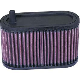 K&N Air Filter - Yamaha - 1996 Yamaha VMAX 1200 - VMX12 PC Racing Flo Oil Filter