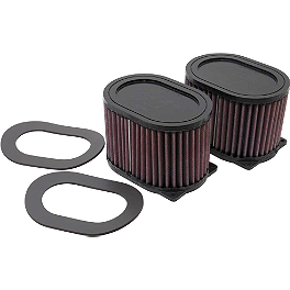 K&N Air Filter - Yamaha - 2008 Yamaha Royal Star 1300 Tour Deluxe S - XVZ13CTS PC Racing Flo Oil Filter