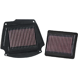 K&N Air Filter - Yamaha - 2002 Yamaha Road Star 1700 Warrior - XV17PC PC Racing Flo Oil Filter