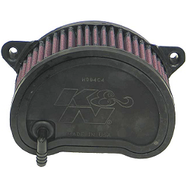K&N Air Filter - Yamaha - 2002 Yamaha Road Star 1600 Midnight - XV1600AS BikeMaster Air Filter