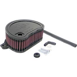 K&N Air Filter - Yamaha - 2006 Yamaha Road Star 1700 Midnight Silverado - XV17ATM PC Racing Flo Oil Filter