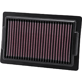 K&N Air Filter - Yamaha - 2011 Yamaha VMAX 1700 - VMX17 PC Racing Flo Oil Filter