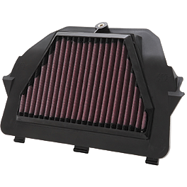 K&N Air Filter - Yamaha - 2009 Yamaha YZF - R6 BikeMaster Air Filter