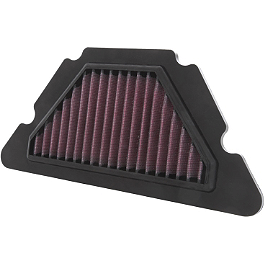 K&N Air Filter - Yamaha - 2010 Yamaha FZ6R BikeMaster Air Filter
