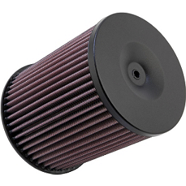 K&N Air Filter - 2010 Yamaha YFZ450R Outerwears Airbox Cover