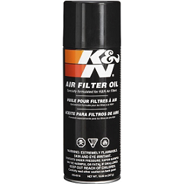 K&N Air Filter Oil Spray - 12.25oz - K&N Air Filter Spray Cleaner - 12oz