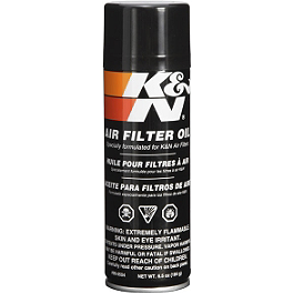 K&N Air Filter Oil Spray - 6.5oz - K&N Air Filter Spray Cleaner - 12oz