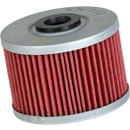 K&N Cartridge Oil Filter - 2000 Honda XR250R FMF Powercore 4 Slip-On Exhaust - 4-Stroke
