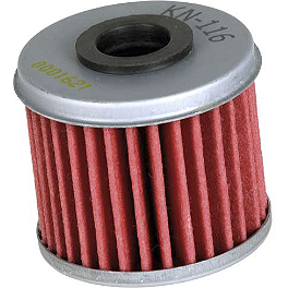 K&N Cartridge Oil Filter - 2012 Honda TRX450R (ELECTRIC START) K&N Xtream Power Lid