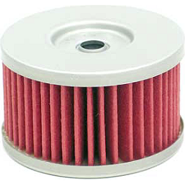 K&N Cartridge Oil Filter - 2004 Suzuki DR650SE Pirelli MT90AT Scorpion Front Tire - 90/90-21 V54