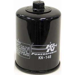 K&N Spin-on Oil Filter - 2004 Yamaha FJR1300 - FJR13 NGK Iridium IX Spark Plugs