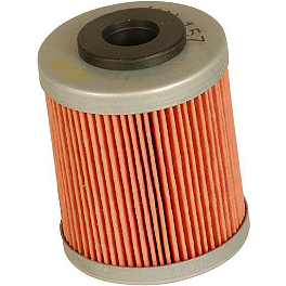 K&N Cartridge Oil Filter - Second Filter - 2007 KTM 400EXC Twin Air Oil Filter - KTM 1st Filter