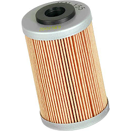 K&N Cartridge Oil Filter - First Filter - 2002 KTM 250EXC-RFS MSR Stainless Oil Filter - 2nd Filter